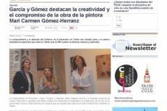 García-y-Gómez-destacan-la-creatividad-y-el-compromiso-de-la-obra-de-la-pintora-Mari-Carmen-Gómez-Herranz-—-eldiadigital