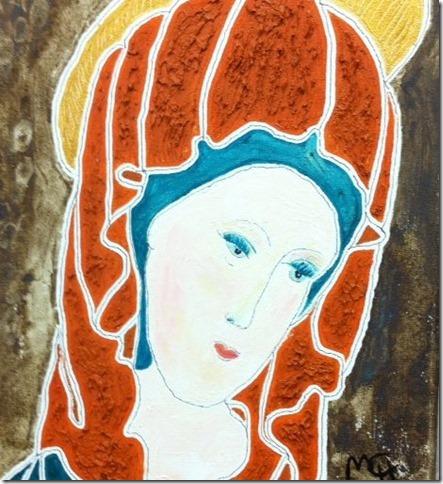 mi virgen bizantina